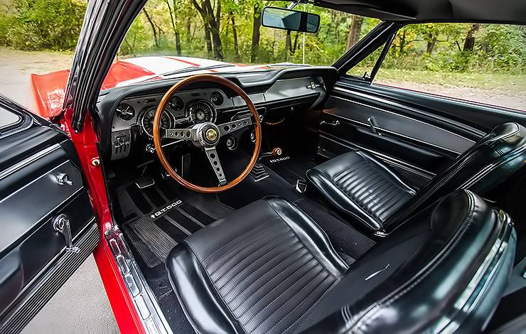 1967 Shelby GT500 Fastback interior