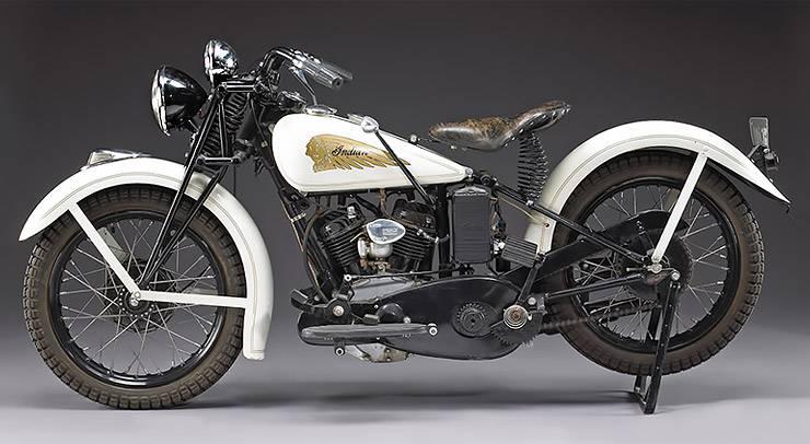 Steve McQueen 1934 Indian Sport Scout motorcycle