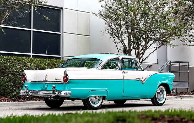 1955 Ford Fairlane Crown Victoria rear right side