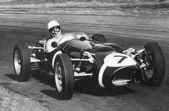 Ferguson P99 Climax all wheel drive formula one car