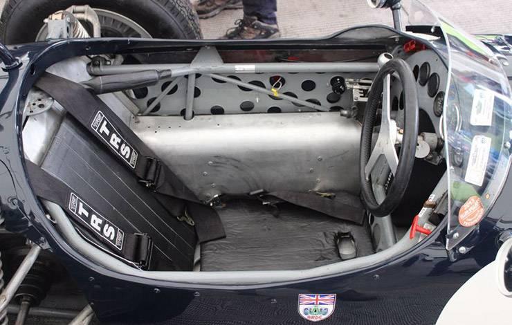 AWD Formula 1 Ferguson P99 cockpit