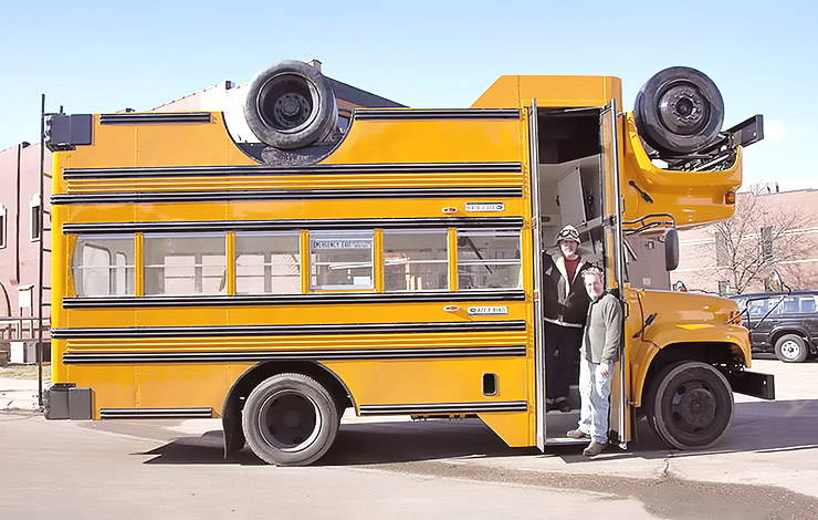 Turvy Topsy Bus by The Mutant Brothers
