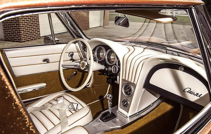 1963 Chevrolet Corvette Asteroid interior