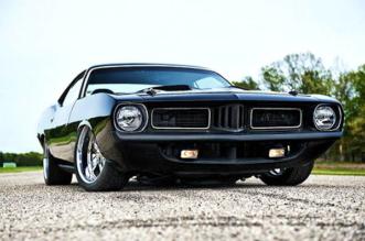 "1973 Plymouth 'Cuda ""Blackend"""